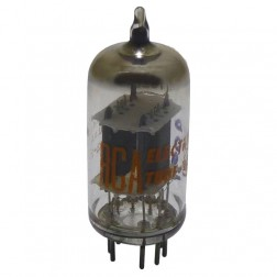 7025/12AX7A Tube, low noise dual triode, High Mu Twin Triode