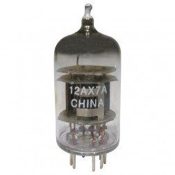 12AX7A-CHINA Tube, High Mu Twin Triode,  China