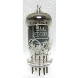 12AX7-USA  Tube - Audio, High Mu Twin Triode, ECC83,  US Brands