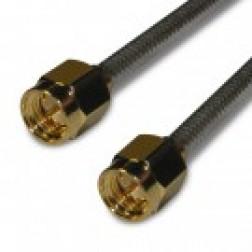 135101-R1-06  Pre-Made Cable assembly, 6 inch,  0.085 Flex Semi-Rigid, SMA Male, Amphenol