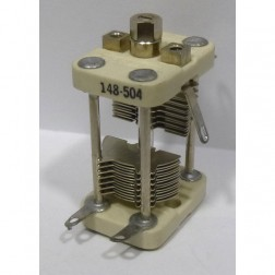 148-504-1 Variable Capacitor, Panel Mount, 3.2-35 pf, E. F. Johnson