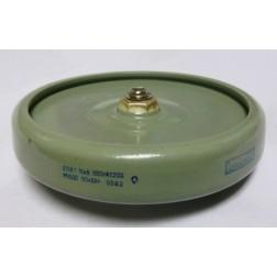1500-15 Doorknob Capacitor, 1500pf 15kv, Mfg: Radio Komponent