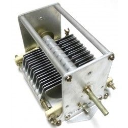 153-8  Air Variable Capacitor, 23-146 pf, 4500v, EF Johnson