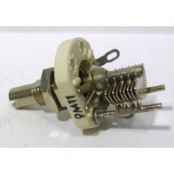 160-104-1  Variable Capacitor, Panel Mount, 1.8-8.7 pf, E.F. Johnson (9M11)