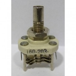 160-203-1 Variable Capacitor, Panel Mount, 1.5-3.1 pf, E. F. Johnson