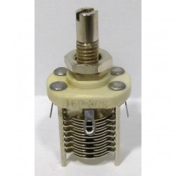 160-308-1 Variable Capacitor, Panel Mount, 2.3-14.2 pf, E.F. Johnson