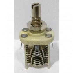 160-308-1 Variable Capacitor, Panel Mount, 2.3-14.2 pf, E.F. Johnson