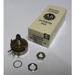 18-5001-02 Potentiometer, 500 ohm, 4 watt, (RY4LAYSA501A) Pride