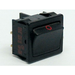 1802 Rocker Switch, DPST, 10a 250vac, Kema Keur