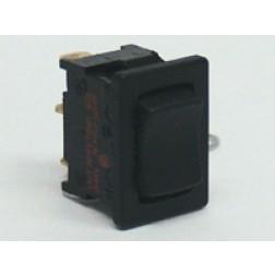 1808  Rocker Switch, SPDT, ON - OFF - ON,  6a 125-250vac, Kema Keur
