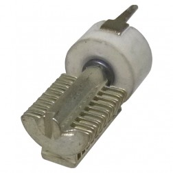 187-0109-005 Vertical PC Mount Capacitor, variable, T9-5, 1.9 - 15.7pf, EF Johnson