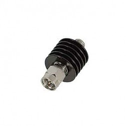 18B5W-30 Fixed Attenuator, 5 watt, 30db, SMA Male-Female, API/INMET