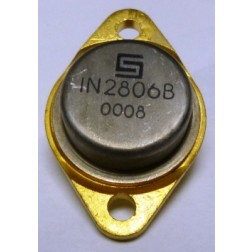 1N2806B  Diode, Zener 50 Watt 8.2v  TO-3 Case