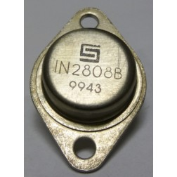 1N2808B  Diode, Zener 50 Watt 10v  TO-3 Case