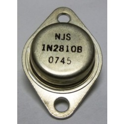 1N2810B  Diode, Zener 50 Watt 12v  TO-3 Case