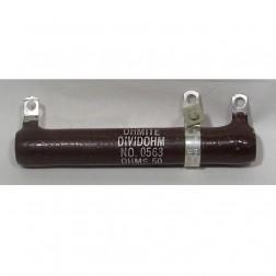 2012-1500 Resistor, 1.5k ohms 50 watt. Ohmite