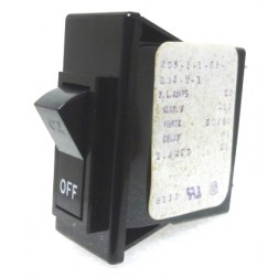 203-1-1-61-203-2-1 Circuit Breaker, Rocker, 20a, AIRPAX