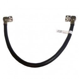214RNMRNM-16 Pre-Made Cable Assembly, 16 Inches, Right Angle Type-N Male on both ends