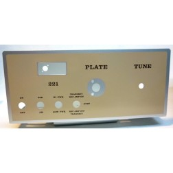 221CHAS  Original Aluminum chassis, 221 Amplifier