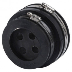 """252147-4 Standard 4"""" cable boot entry, 4 hole insert & hardware"""