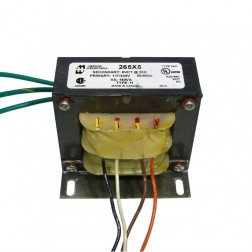 265X5  5.0 vct 30 amps primary 220v