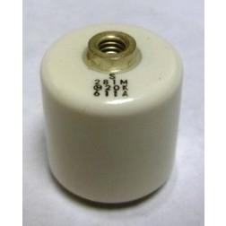 281M Doorknob Capacitor, 280pf 20kv: Murata