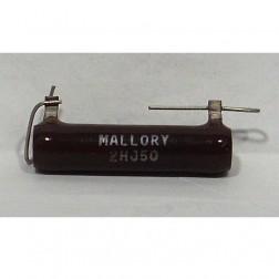 2HJ50 Resistor, 50 ohms 20 watts. Mallory