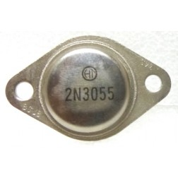 2N3055-HT Transistor, 15 AMPERE POWER TRANSISTORS COMPLEMENTARY SILICON 60 VOLTS 115 WATTS, HT