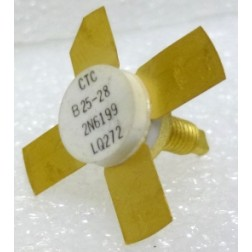 "2N6199 Transistor, 25 watt, 175 MHz, 3/8"" Stud Package, CTC / Acrian (B25-28)"