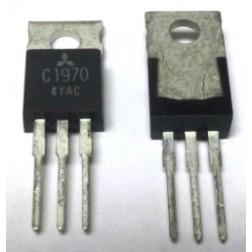 2SC1970 NPN Epitaxial Planar Type Transistor, 175 MHz, 13.5 V, 1 W, Mitsubishi