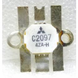 2SC2097HMP  NPN Epitaxial Planar Transistor, Matched Pair, 30 MHz, 13.5 V, 75 W, Mitsubishi