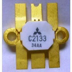 2SC2133 NPN Epitaxial Planar Transistor, 30 W, 28 V, 220 MHz, Mitsubishi