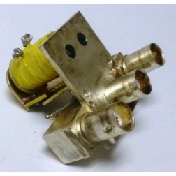 300-11803 Coaxial relay, 26vdc SPDT,  BNC Female, (Clean Used)