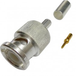 309-36875 - BNC Male Crimp Connector, Rg58/lmr195,  APL