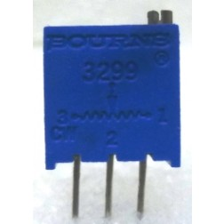 "3299W-500  3/8"" Square Trimpot Trimming Potentiometer, 500 ohm, 0.5 watt, Bourns"