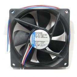 3412N/2HH Fan, 82mm sqx25mm, 12vdc
