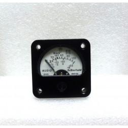 380122  Meter, Audio Panel, 0dBm=1mw, Pioneer Instr. (NOS)