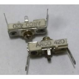 420 Trimmer, compression mica, 2.5-12pF