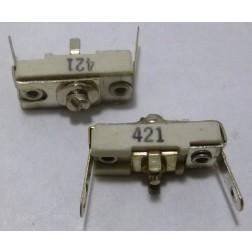 421 Trimmer, compression mica, 3.5-25 pF