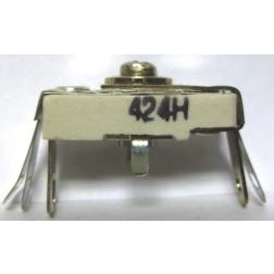 424H  Trimmer, compression mica, 25-150 pF
