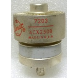 4CX250B-EI-P-1 Transmitting Tube, 7203 / 4CX250B, Eimac, (clean pullout)