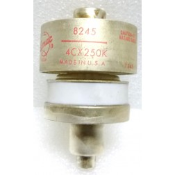 4CX250K Transmitting Tube, 4CX250K / 8245 Eimac