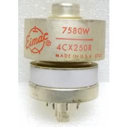 4CX250R-EI-P  Transmitting Tube, 7580W/4CX250R, Eimac (Clean Pullout)