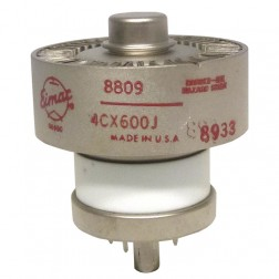 4CX600J  Transmitting Tube, High Current Tetrode, Eimac (NOS) NSN: 5960-00-135-6143