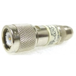 50FP-020-H4  Fixed Attenuator, 20db, 2 w, TNC Male/Female, JFW