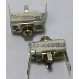 512-2002-003 Trimmer, compression mica, 2-18 pf