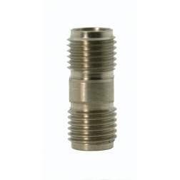 5163 Adapter, sma(female)--sma (female), 0-26.5 ghz, stainless, AERO