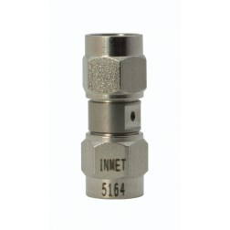 5164 Adapter, sma(male)--sma(male), 0-26.5 ghz, stainless, AERO