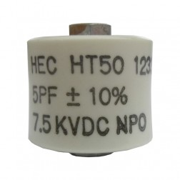 580005-7  Doorknob Capacitor, 5Pf 7.5kv