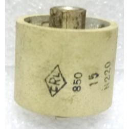 580015-5P  Doorknob Capacitor, 15pf 5kv, +/-20%, Clean Pullout